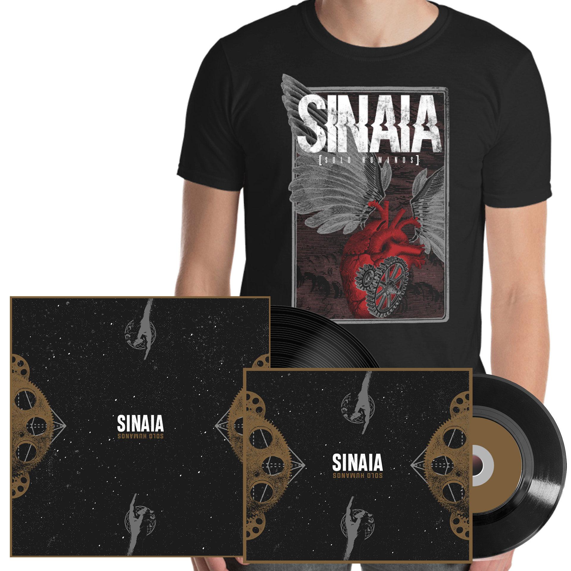 Pack CD Digipack + Vinilo + Camiseta